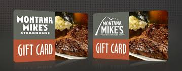 gift cards montana mike s steakhouse