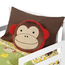 home baby gear nursery toddler bedding skip hop zoo pillow monkey