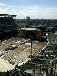 Lincoln Financial Field Seating Chart Kenny Chesney Lincoln Financial Field Section 218 Row 19 Seat 3 Kenny