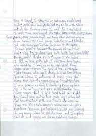 tupac shakur s prison letter up for ny daily news  momentsintime com he penned the letter during a stay in prison after a 1995 rape convinction