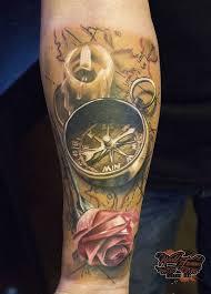 100 úžasné Kompasové Tetovací Vzory Punditschoolnet