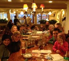 surprise 21st birthday party at olive garden white house green shutters