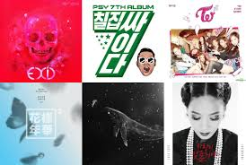 January 2016 Charts Weekly K Pop Music Chart 2016 January Week 1 Soompi