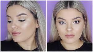 glowy neutral makeup tutorial free jasmine hand you