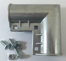 chain link fence parts. Chain Link Gate Corner (With Fasteners) Fence Parts K