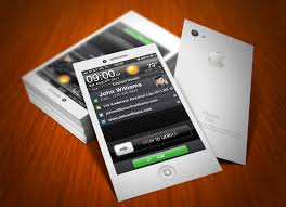 Business Card Design App Iphone Uunilohiinfo