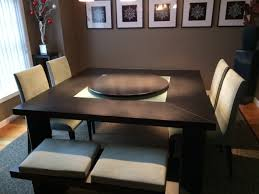 decoration dining table with lazy susan aspiration turner west elm and also 0 from dining