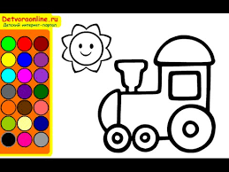 Small Picture Train Coloring Pages Coloring Pages For Kids YouTube