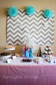 birthday party table decorations pinterest