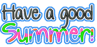 Image result for have a good summer clip art