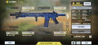Best gunsmith for M4 in call of duty mobile