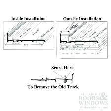 sliding glass door track kit patio door track repair sliding glass door track repair curtains kit
