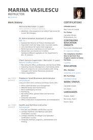 Resume For Recruiter Pelosleclaire Com