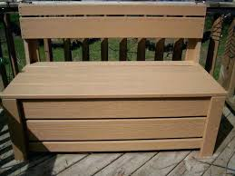 deck box bench bench gallon all weather outdoor patio storage bench concept of deck box with