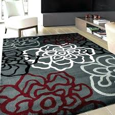 red and brown area rug black gray cream rugs medium size tan chocolate brown black area rug