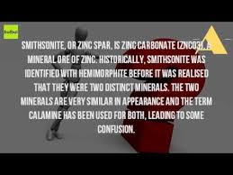 Image result for  zinc carbonates:smithsonite