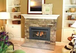 tile around gas fireplace rusty slate