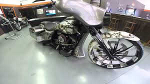harley davidson custom electra glide built by the bike exchange