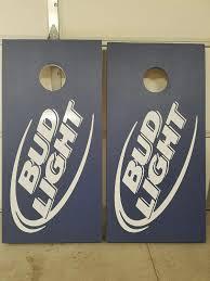 Coors Light Cornhole Amazon Com Bud Light Beer Tournament Regulation Cornhole