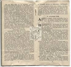abc of the invisible empire booklet from kkk ku klux klan of the invisible empire 1917 booklet from kkk ku klux klan