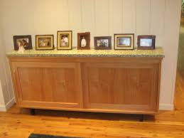 sideboard with sliding doors