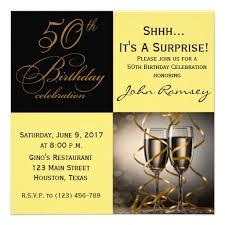 Surprise 50th Birthday Party Invitations Wording Mzee Birthday
