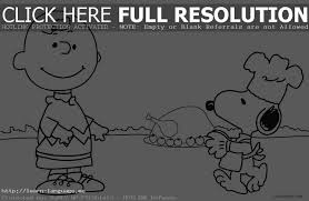 Charlie Brown Thanksgiving Coloring Pages Festival Collections