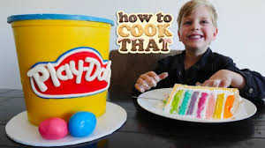 Howtocookthat Cakes Dessert Chocolate Play Doh Cake Video