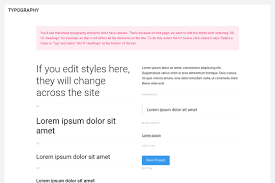 Style Template The Style Guide Template Webflow