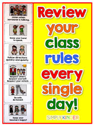 56 Paradigmatic Class Rules Charts