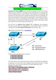 Designated Port Vs Root Port Cisco Spanning Tree Protocol Discussion