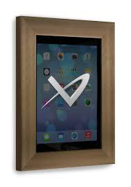 front iso view floine bronze ipad 2 3 4 wall frame