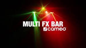 cameo multi fx bar all in one solution with 5 lighting effects cameo hydrabeam 100 rgbw lighting set