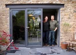 new bifold doors of jane davies alex bethall frome somerset
