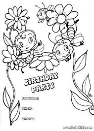 Small Picture Disney Printable Coloring Birthday CardsPrintablePrintable