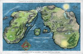 tolkiens legendarium  is this map of middleearth reliable