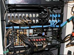 show me your rack page 71 avs forum home theater discussions here is a more recent photo of th patch panel more terminations