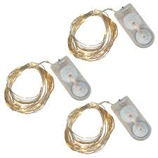 Mini String Lights Battery Operated Lumabase Warm White Battery Operated Waterproof Mini String Lights