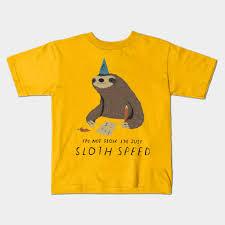 Animal Speed Chart Sloth Speed