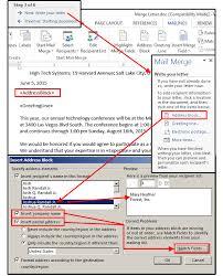 figure3 mail merge step 3 write letter address block orig
