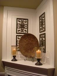 thrifty decor how to decorate your mantel ideas for decorating with a corner fireplace
