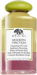 <b>Origins Modern Friction</b> Cleansing Oil with Radiance-Boosting White ...