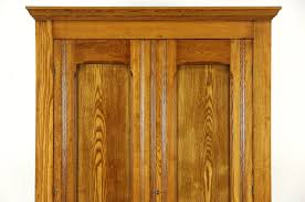 armoire furniture antique. Victorian Eastlake 1890 Antique Oak \u0026 Ash Armoire, Wardrobe Or Closet Armoire Furniture F