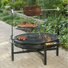 outdoor bbq grills. Round Rock Fire Pit \u0026 Charcoal Grill - 48\ Outdoor Bbq Grills M