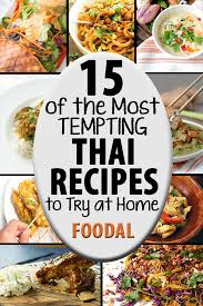 are you in love with the spicy tempting taste of thai food we