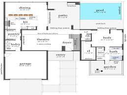 beach house floor plans australia elegant 3d house floor plans modern house floor plans
