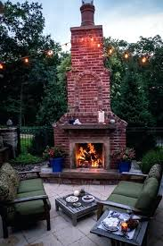 outdoor chimney fireplace brick fireplace outdoor chimney fireplace cost