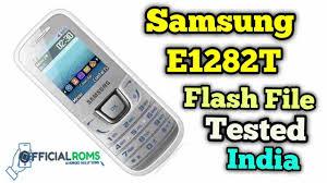 Samsung E1282T Flash File Full tested ...