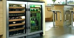 best wine fridge under counter refrigerator depth