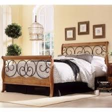 wrought iron and wood furniture. Wrought Iron And Wood King Bed Flower Dunhill Furniture N